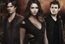 The Vampire Diaries / The Vampire Diaries is a supernatural drama television series that takes place in Mystic Falls, Virginia, a fictional small town haunted by supernatural beings. The series narrative follows the protagonist Elena Gilbert as she falls in love with vampire Stefan Salvatore and is drawn into the supernatural world as a result. As the series progresses, Elena finds herself drawn to Stefan's brother Damon Salvatore resulting in a love triangle.