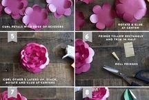 flores d papel