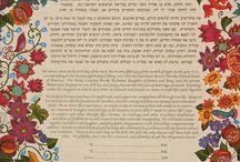 Ketubah - izraelské manželské smlouvy