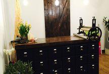 Beautiful flower shop . Custom made