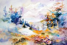 Awesome Watercolor Landscapes