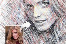 Photoshop, Illustrator, Indesign  ideas / by Jodi Shaddy-Faulkner