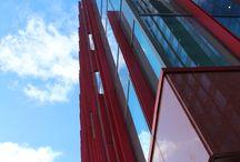 Almere van boven / In en rond de Carlton toren in Almere Centrum