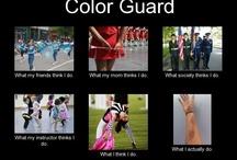 Color guard!