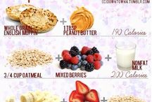 nutritious foods and smoothies