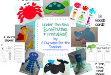 Under the Sea Theme / by Creative Learning Fun