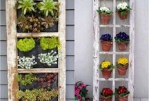 Window frames for outdoors