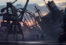Enviroments: Harbors