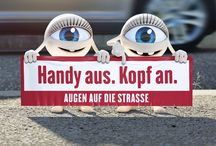 Augen auf die Strasse - Print Campaign