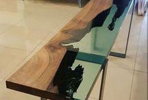 epoxy furniture