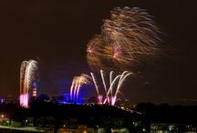 Edinburgh's Torch Light Procession