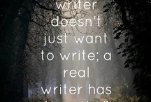 Write what you love...