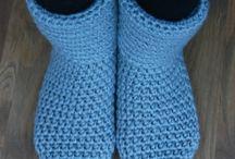 Crochet, knit & sewn socks