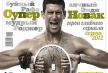 Magazine Cover - tennis