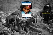 'Broken India' Photo Series