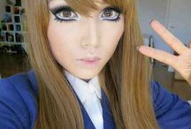 Anime look