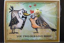Crazy birds Tim holtz