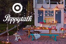 Poppytalk for Target / We've partnered with one of our favorite pinners and designers, Poppytalk, to design an exclusive collection for Target that will make throwing a Pinterest-worthy outdoor party a cinch! The collection launches in stores and online on June 22 for a limited time only. / by Jan + Earl of Poppytalk
