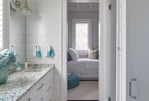 coastal bathrooms / Bathrooms fit for any beach house big or small