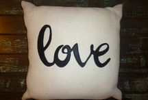 My pillow creations