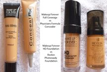 Makeup & concealer dupes