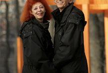| Christo e Jeanne Claude |