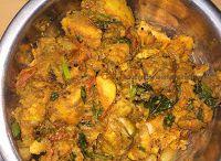 Kozhi varuval-chicken gravy