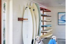 Surf/Paddle Board Storage ideas
