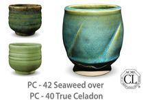 Ceramics: glazing / Ceramics glaze ideas.  Amaco. Mayco. Potters choice. Celadon.  / by Kellijean Press