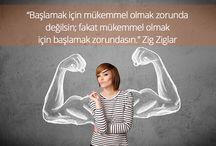 Biraz Motivasyon ;) / Sağlıklı yaşam ve düzenli spor için ihtiyacın olan motivasyon burada! ;)