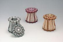 шкатулки из бисера