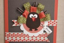 Thanksgiving, Valentines Day, Halloween and Easter Cards