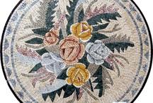 Mermer mozaik tablolar