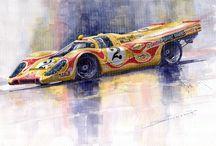 Porche Motorsports Posters