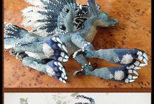 Boží věcičky z korálků!! / Nádherné věci vyrobené z korálků, nad kterými zůstává rozum stát a srdce zaplesá vášní <3