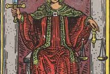 11 - Justice Tarot card / Justice is uncompromising and without emotions. Not for the faint hearted ;)