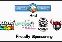 Streak Gaming Contests/Exclusive Slot Tournaments / Come in and win $,£,¥ or € by entering Streak Gaming's freerolls, slot tournaments and contests.