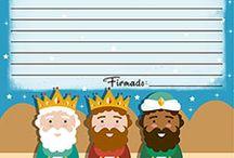 Cartas para Reyes Magos y Papá Noel