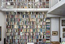 libreria con passatoia
