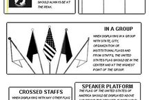 Flag Etiquette and Info