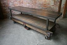 Wood Metal Industrial & Vintage