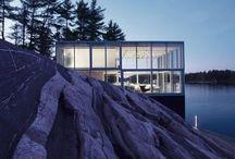 William studio / V jednoduchosti je krása! Minimalistický design a čistota snoubící se s půvaby okolní krajiny, to je fotografické William studio v Kanadě.