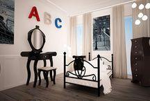 FERENS design - projekty / mieszkania / SYPIALNIE / architekt FERENS design joanna ferens - hofman warszawa wizualizacje