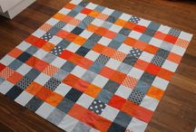 Black, Red & Blue quilts