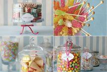 sweet buffet for baby girl