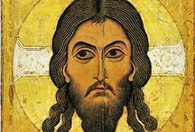 Eyes in Orthodox icons