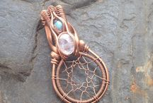 Jewellery wire wrapping ideas
