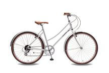 FOFFA Plume 2016 / Classic in appearance the Plume is practical in its weight; its lightweight alloy frame means you don't require a forklift to be on standby to lift this bike up a flight of stairs. The Plume, where practicality meets style.