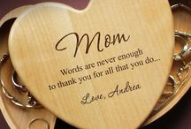 Mother's Day Gifts with a Personalized Touch / Product images & design pages on our boards are the sole intellectual property of Designs the Limit and reproduction for commercial use is strictly forbidden.