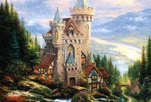 Thomas Kinkade art